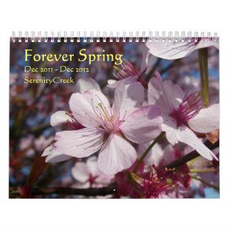 Forever Spring Wall Calendar