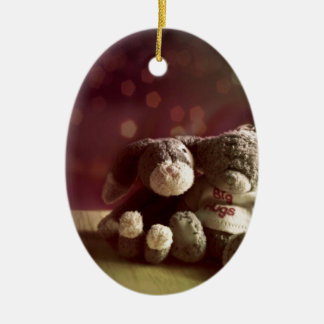 Forever together ceramic ornament