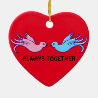 Forever Together Ceramic Ornament