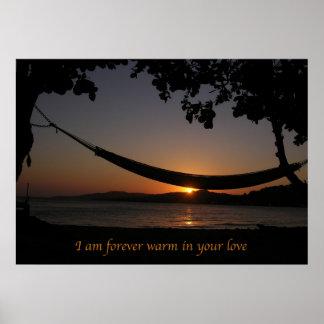 Forever Warm Affirmation Poster