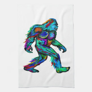 Forever Yeti Kitchen Towel
