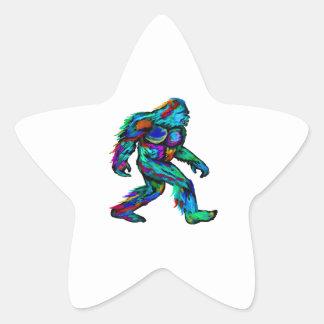 Forever Yeti Star Sticker