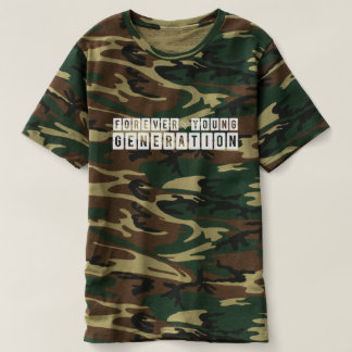 Forever Young Generation Camouflage T-shirt