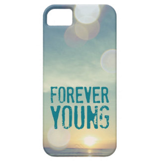 Forever Young Sunset iPhone 5 Cover