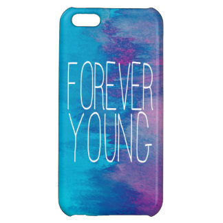 Forever Young Turquoise Ombre Case For iPhone 5C