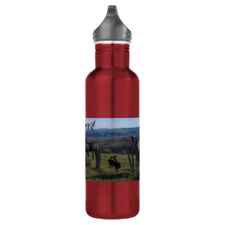 ForeverCowgirl 24 oz 710 Ml Water Bottle