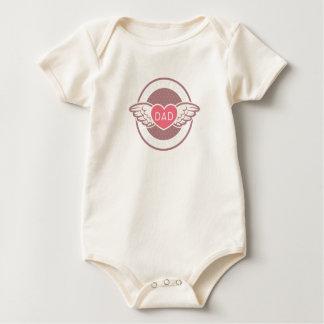 Forget it boys Dad is my Valentine Baby Bodysuit