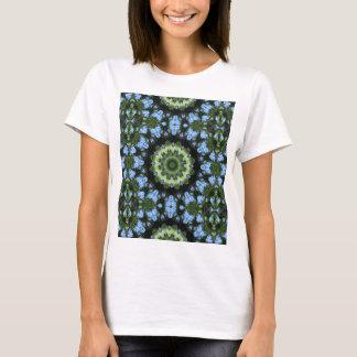 Forget Me Not 001 02.1 Forgetmenot, Nature Mandala T-Shirt