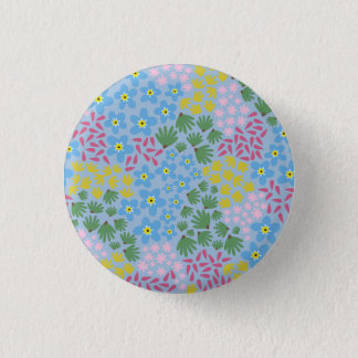 Forget Me Not 1 Inch Round Button