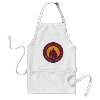 Forget Me Not Animal Rescue Logo Apron