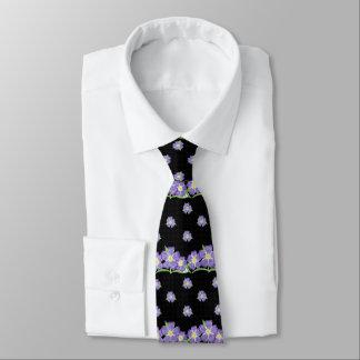 Forget-me-not black tie