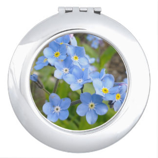 Forget Me Not Compact Mirror