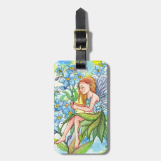 Forget-Me-Not Fairy Luggage Tag