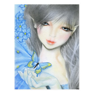 Forget me not Fairy Postcard
