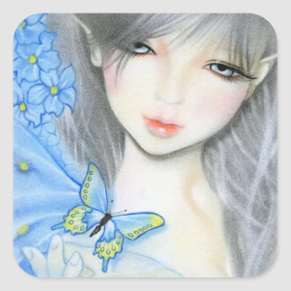 Forget me not Fairy sticker