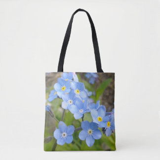 Forget Me Not Flowers Bag