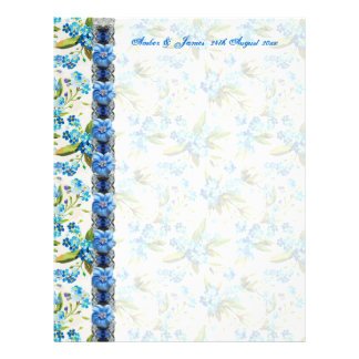 Forget me Not Guest Message Paper