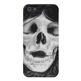Forget me not in Black & grey iPhone 5 Covers