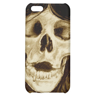 Forget me not in sepia case for iPhone 5C