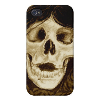 Forget me not in sepia iPhone 4/4S cover