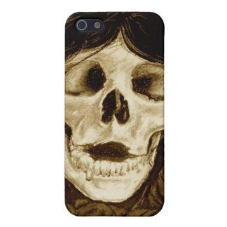 Forget me not in sepia iPhone 5 case