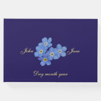 Forget Me Not Wedding Guestbook