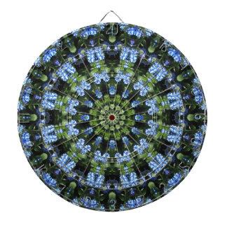 Forget-me-nots, Flower Mandala Dartboard