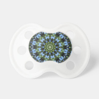 Forget-me-nots, Flower Mandala Pacifier