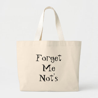 Forget Me Not's Large Tote Bag