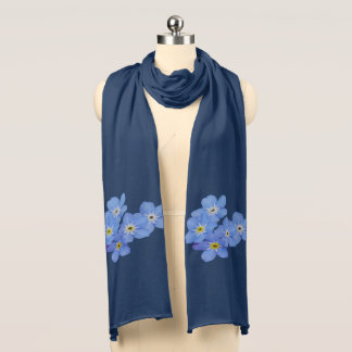 Forget Me Nots Scarf