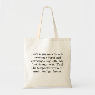 Forget Paris Tote