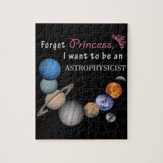 Forget Princess - Astrophysicist Puzzle