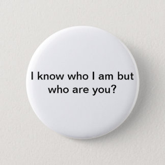 Forget someones name? Who are you? 2 Inch Round Button