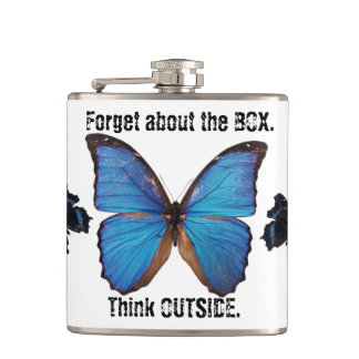 Forget the Box Think Outside Nature Flask