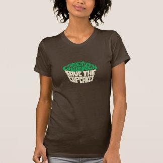 Forget the Children - Green+Beigh T Shirt