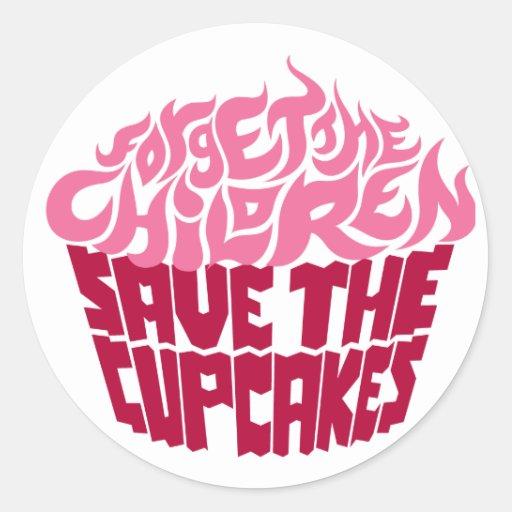 Forget the Children - Pink+Maroon Sticker