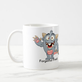 Forgetful Fred Coffee Mug