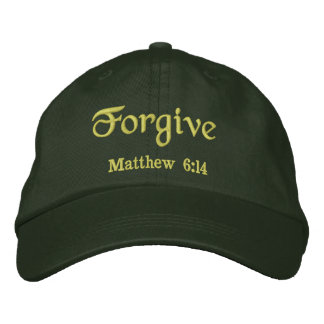 Forgive Agrainofmustardseed.com Embroidered Baseball Cap