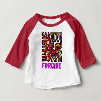 """Forgive"" Baby 3/4 Raglan T-Shirt"