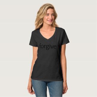 """""""Forgive"""" Hanes Nano V-Neck T-Shirt"""