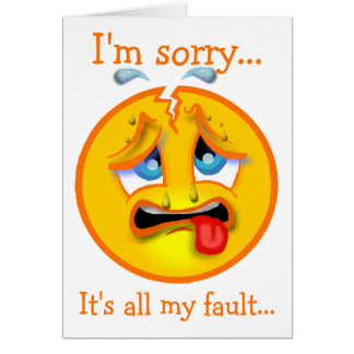 Forgive Me Card