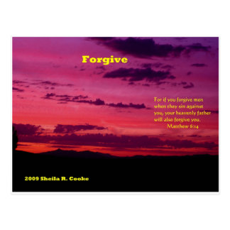 Forgive Postcard