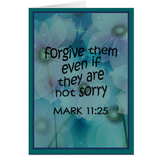 Forgive Them Card