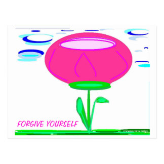 Forgive Yourself Postcard
