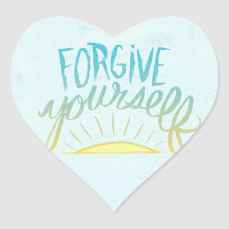 Forgive yourself stickers