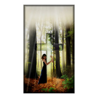 Forgiven (Contemporary Christian Art Poster) Poster