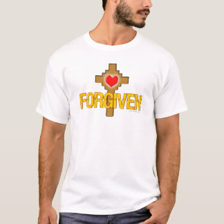 Forgiven Heart Cross T-Shirt