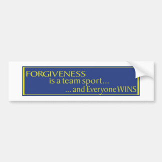 Forgiveness Bumper Sticker