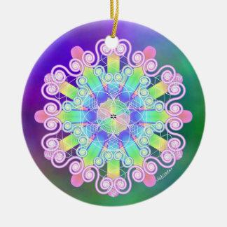 Forgiveness/Gently Ceramic Ornament