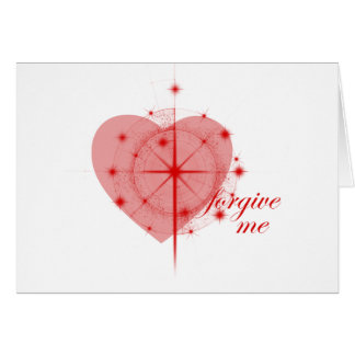 forgiveness heart card